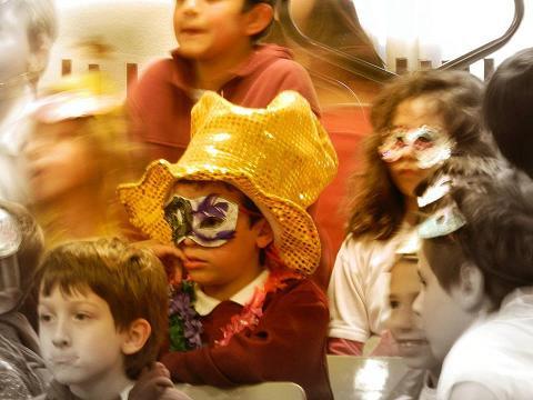 Recreación del Carnaval D´Ivrea
