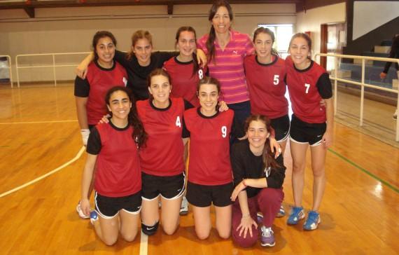 Equipo Femenino de Handball- CONI-Buenos Aires
